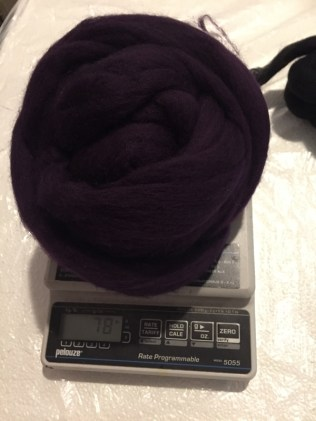 02 purple wool