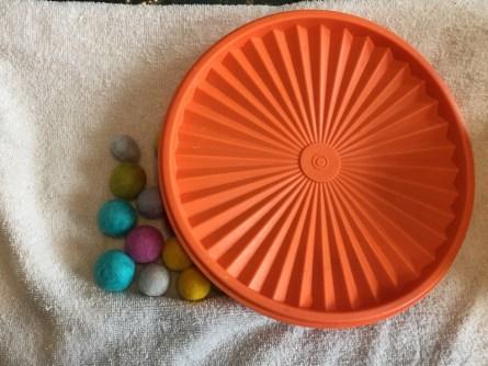 making felt balls 6