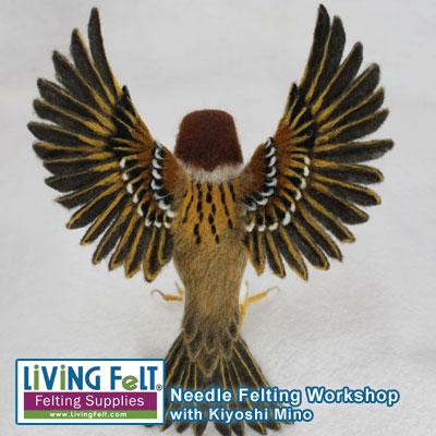 Felting Workshop Needle Felting Realistic Birds with