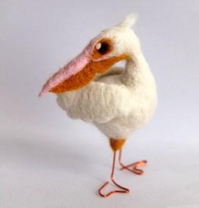 Needle Felted Pelican