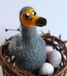 Needle Felted Dodo