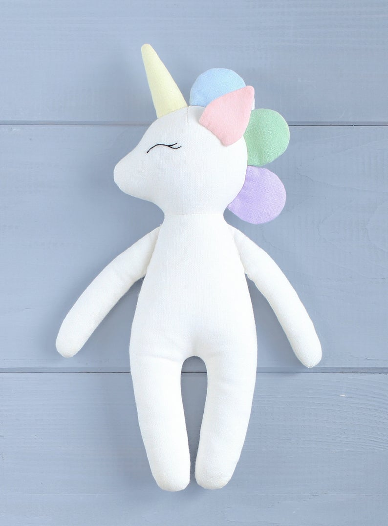Unicorn Plush Pattern : unicorn, plush, pattern, Unicorn, Patterns, Projects, Designs