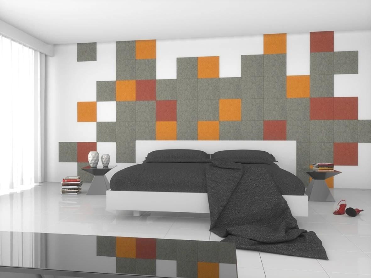 Schlafzimmer Wandgestaltung Streifen