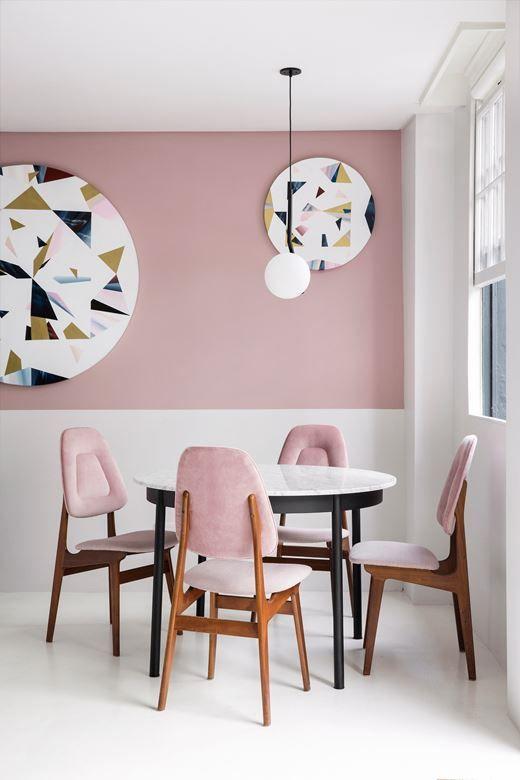 Inspiratie roze meubels maken je interieur compleet  FEM FEM