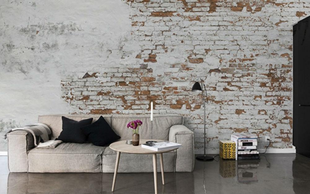 Inspiratie de gaafste bakstenen muren in huis  FEM FEM