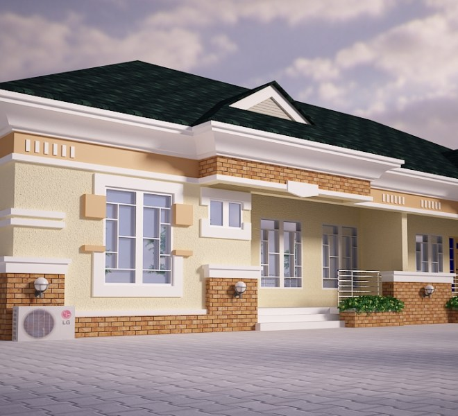 2 AND 3 BEDROOM SEMI-DETACHED BUNGALOW