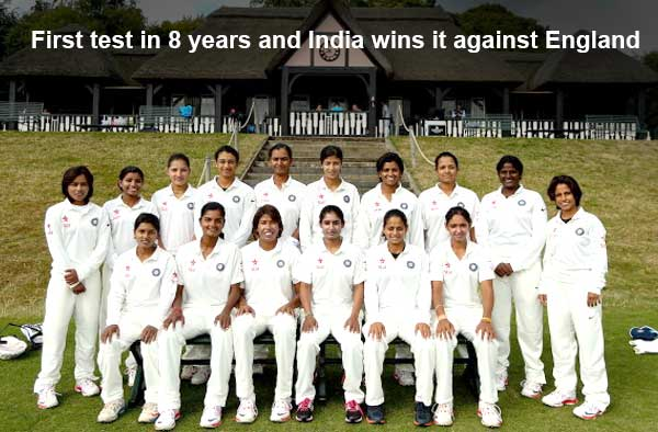 Team India playing their Test match against England