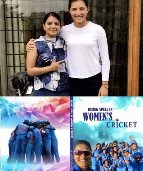 Interview with Ar. Mukta - A Cricketer turned Author of Rising Spell in Women's Cricket