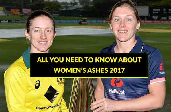 Journey of the 'Women Ashes' 1934-2017: A Rivalry to Recon With