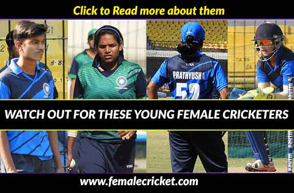 5 youngsters who outperformed in the recently concluded Women's Challenger's Trophy 2017-2018