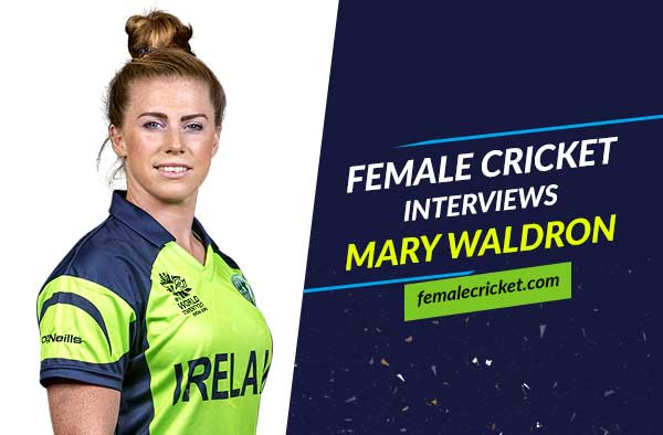 EXCLUSIVE Interview with Mary Waldron - striker in football and a wicket keeper in cricket