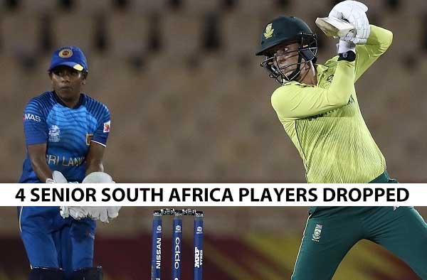 Faye Tunnicliffe, Tazmin Brits, Nadine de Klerk and Lara Goodall return to the set-up for series against Sri Lanka