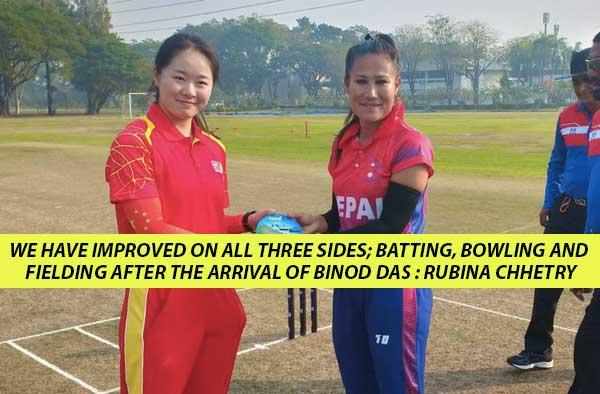 Rubina Chhetry led Nepal Women's Team positive about Thailand Women's T20 Smash 2019
