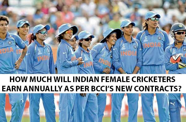 BCCI Announced Annual Contracts For Senior Women Cricketers