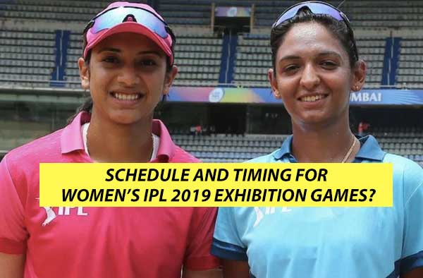 Women's IPL 2019 exhibition games to be held in Jaipur featuring three teams — Supernovas, Trailblazers and Velocity