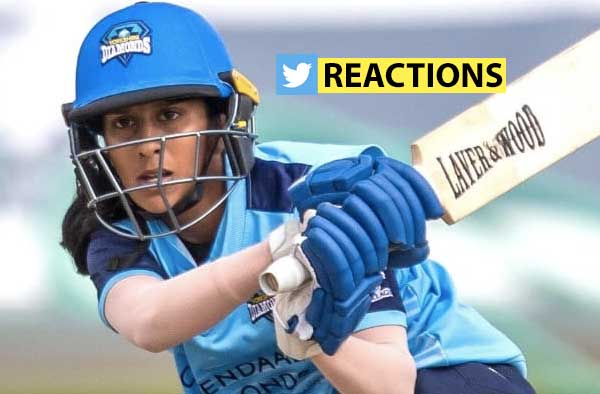 Jemimah Rodrigues Maiden KSL Hundred Twitter Reactions