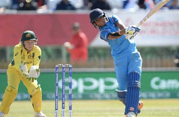 Harmanpreet's century was embellished with 20 fours and as many as seven sixes.