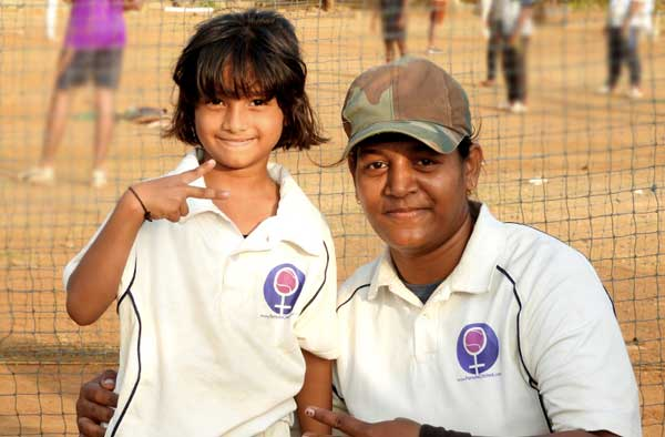 Celebrating Female Cricket. Pic Credits: Female Cricket