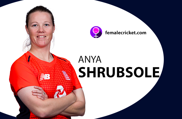 Anya Shrubsole. Women's T20 World Cup 2020