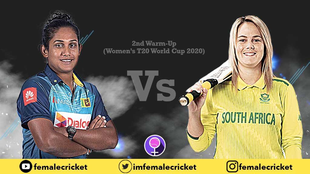 Sri Lanka vs South Africa Women's World Cup 2020