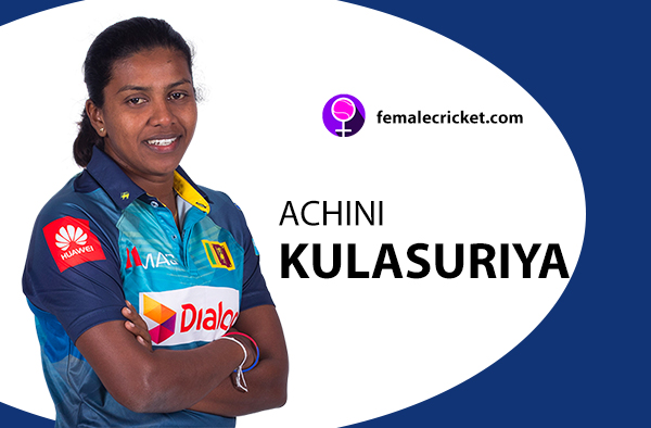 Achini Kulasuriya. Women's T20 World Cup 2020