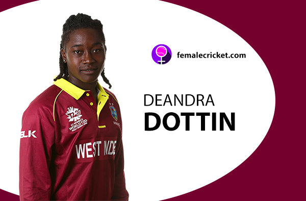 Deandra Dottin. Women's T20 World Cup 2020