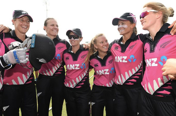New Zealand Women's Cricket team