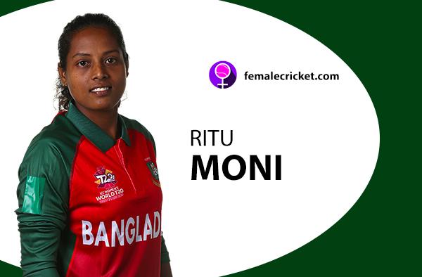 Ritu Moni. Women's T20 World Cup 2020