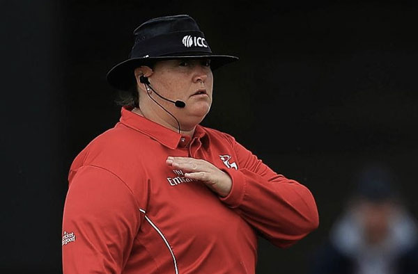 Suzanne Redfern is an English cricket umpire and former player.