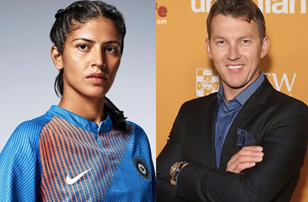 Shubhlakshmi Sharma admired Brett Lee's bowling action
