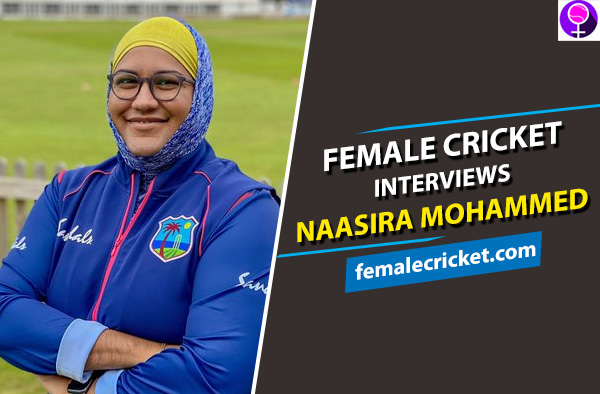 Female Cricket interviews Naasira Mohammed