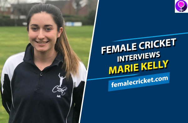Female Cricket interviews Marie Kelly. PC: Complete Cricket