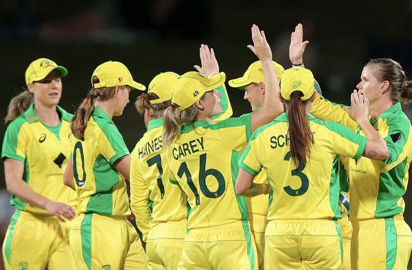 22 Consecutive Wins for Australian Women's Cricket Team. PC: AusWomenCricket/Twitter