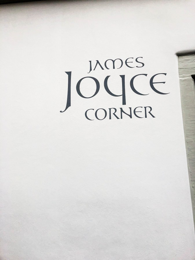 james joyce corner