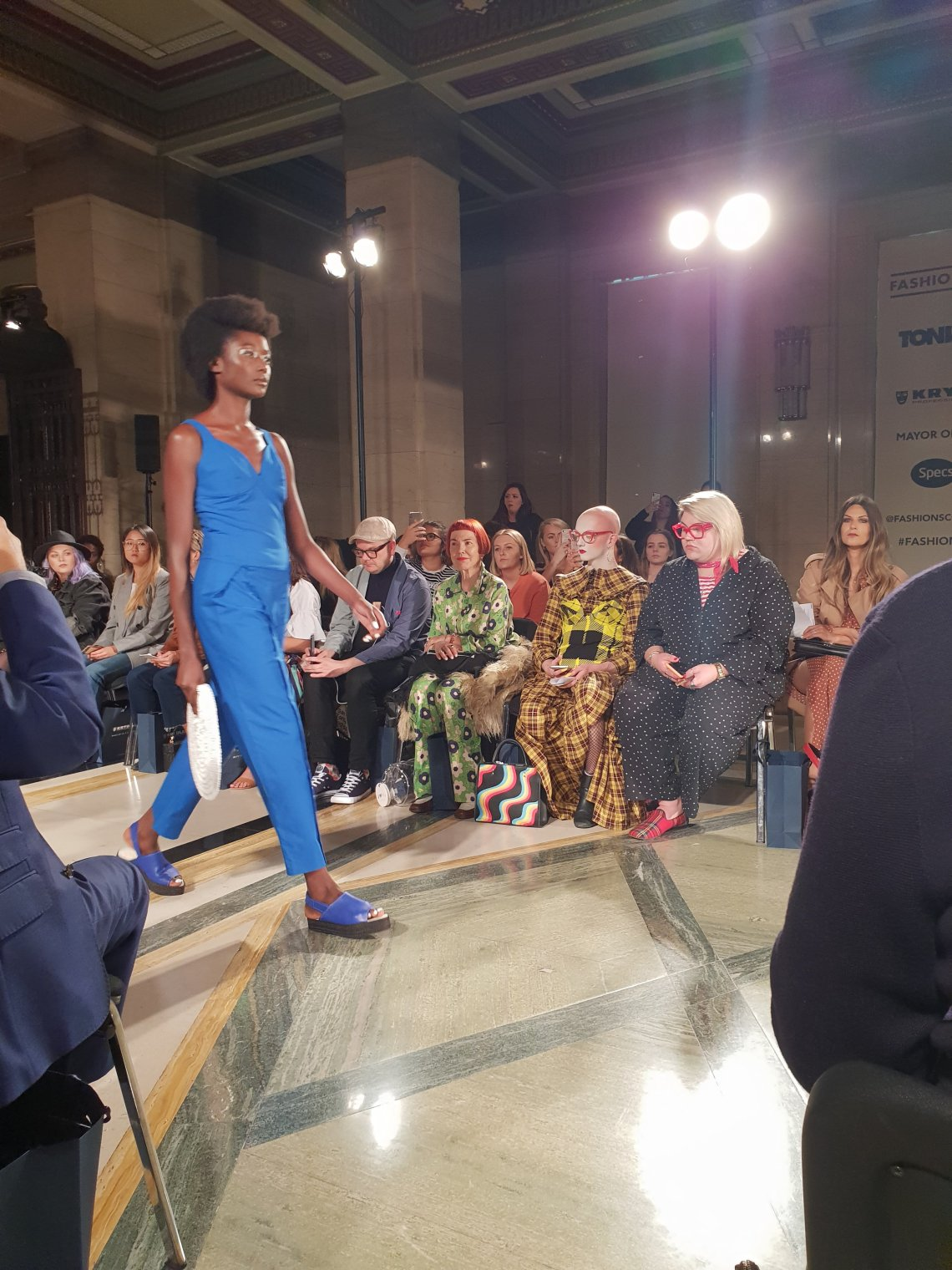 london fashion week SS19 catwalk