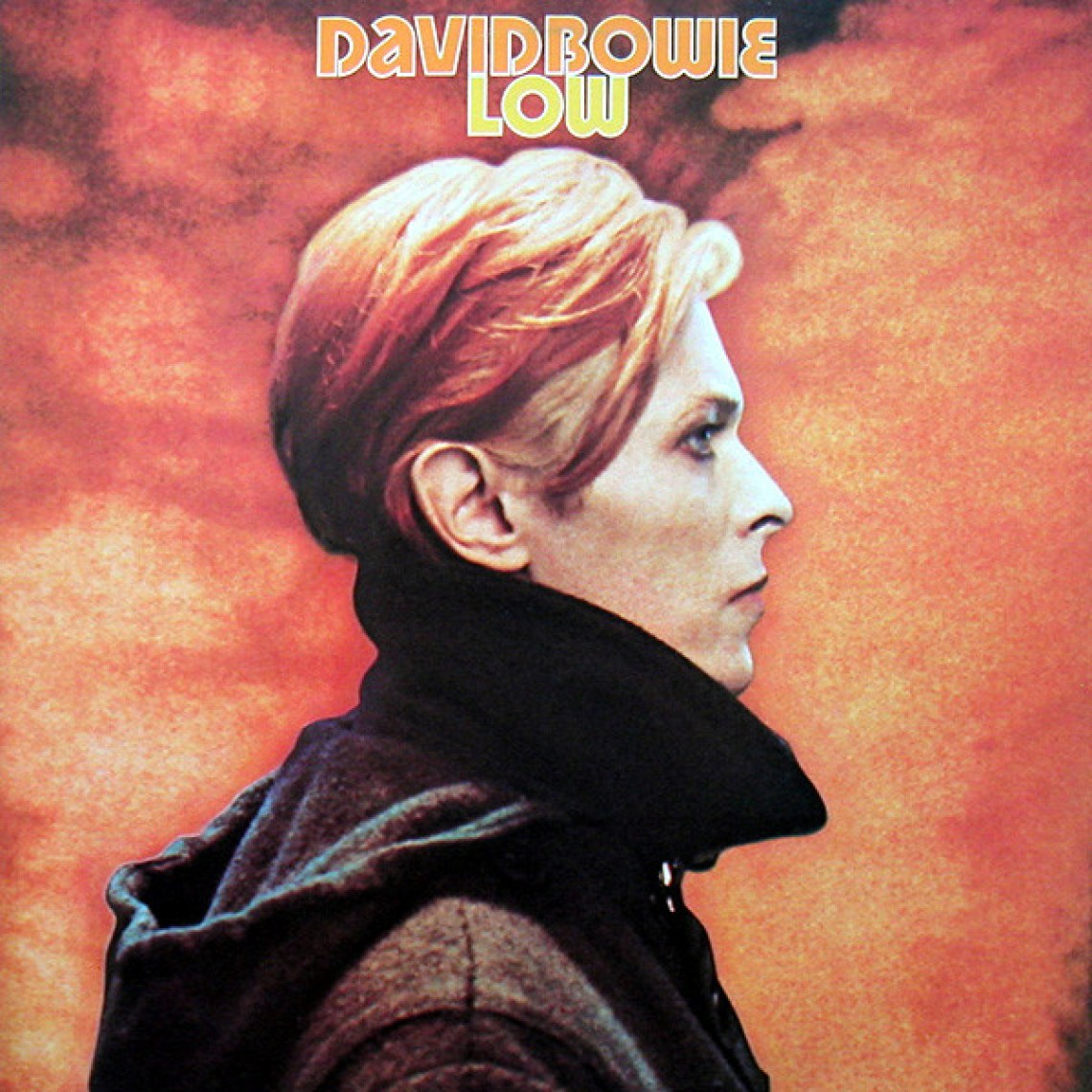 Low (1977) album cover, David Bowie.