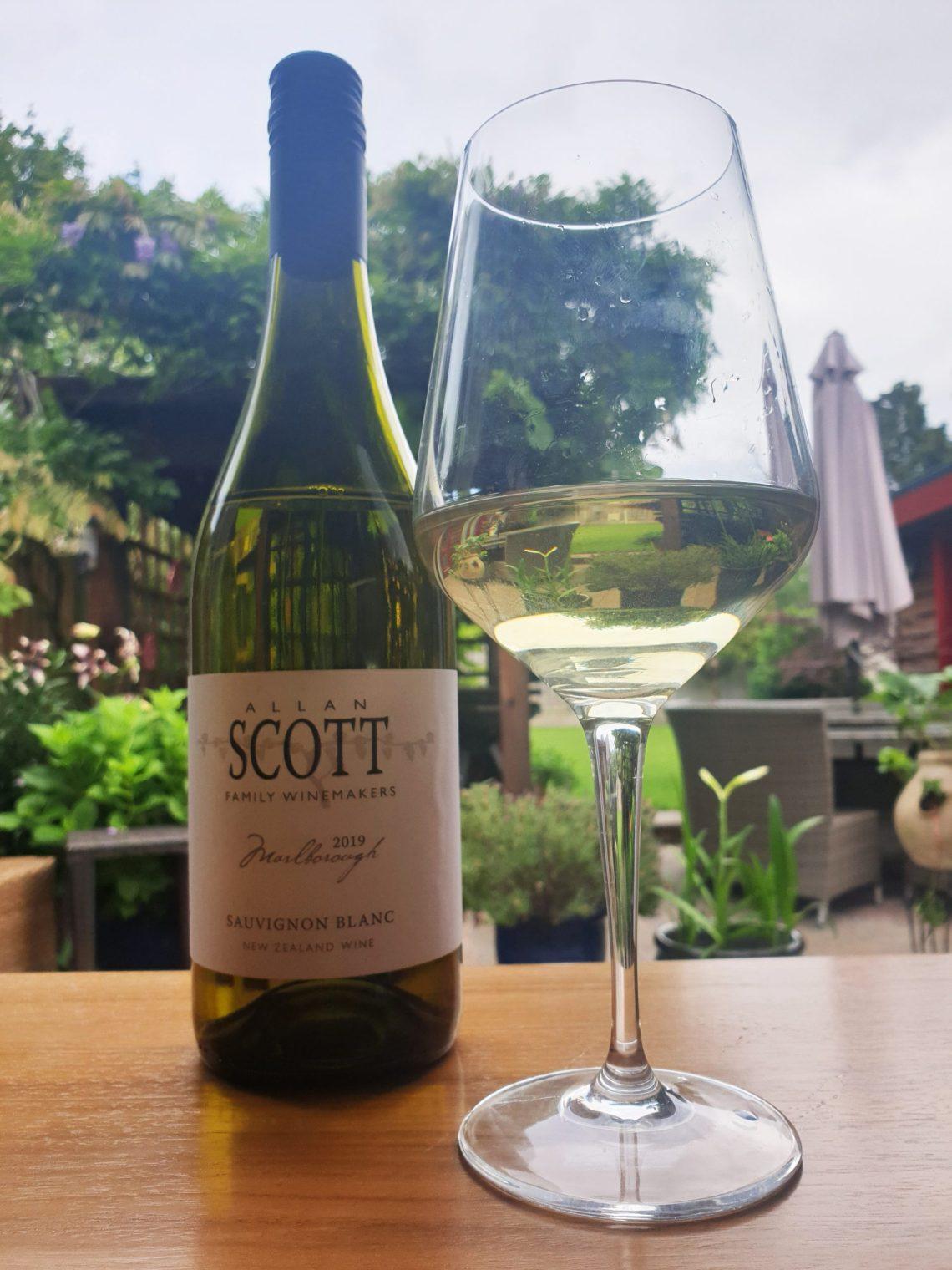 Allan Scott Family Winemakers Sauvignon Blanc.