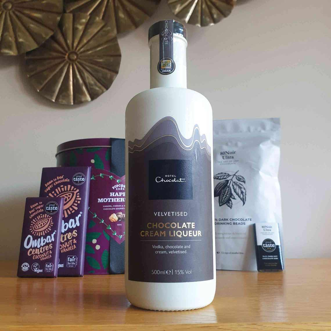 Hotel Chocolat Velvetised Chocolate Cream Liqueur. The Best Foodie Mother's Day Gifts.