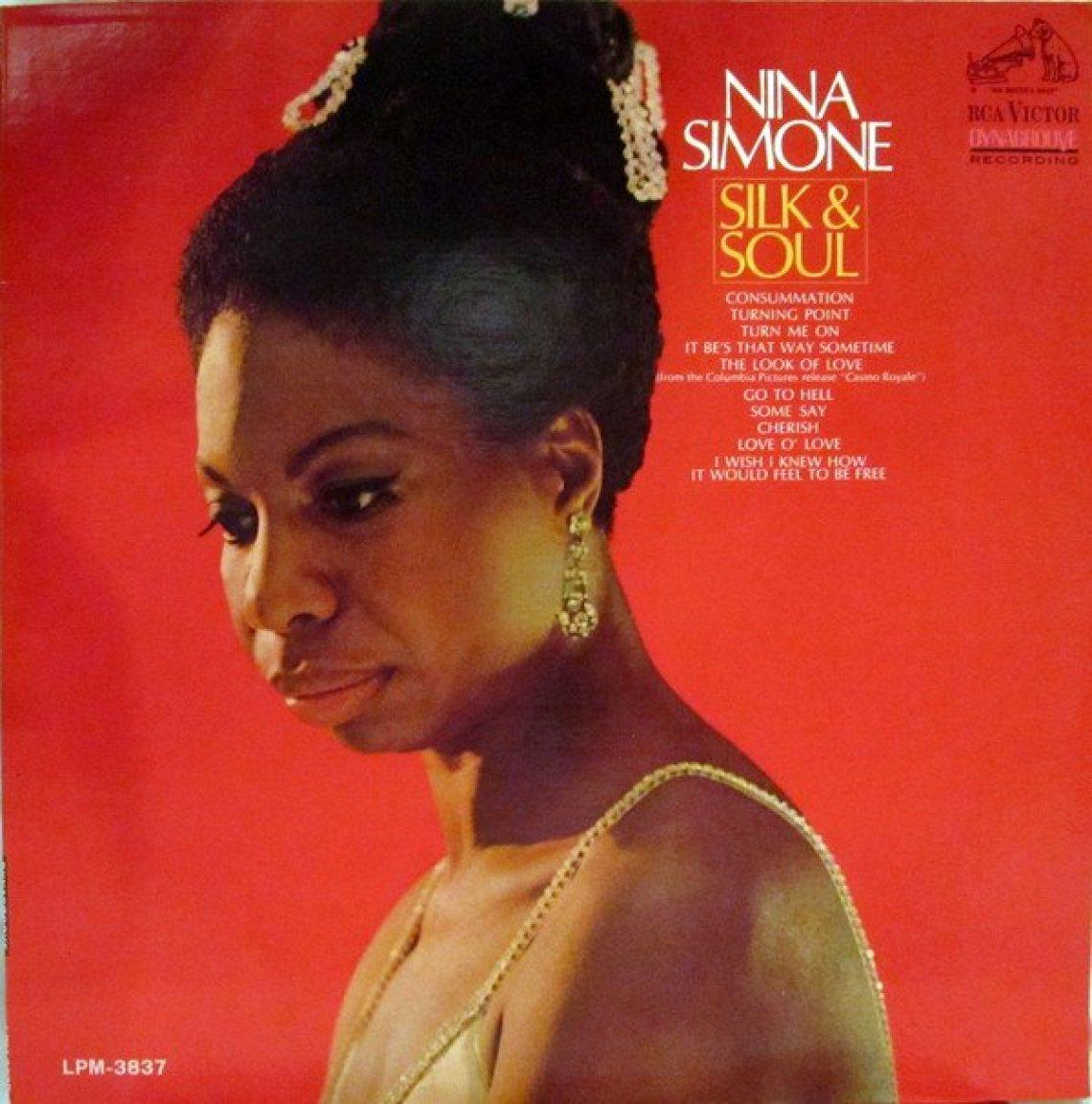 Silk & Soul (1967) album cover - 40 Best Nina Simone Songs (The Legend Slot) - Female Original
