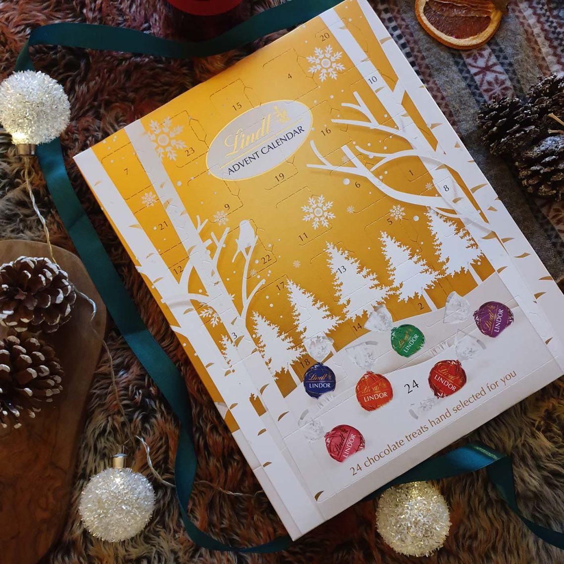 Best Foodie Advent Calendars - Lindt Advent Calendar - Female Original