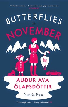 Butterflies in November by Audur Ava Olafsdottir