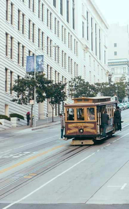 San Fransisco Cable Car Trolley