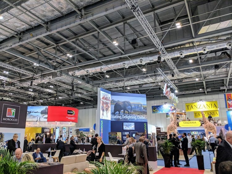 World Travel Market, London Africa section