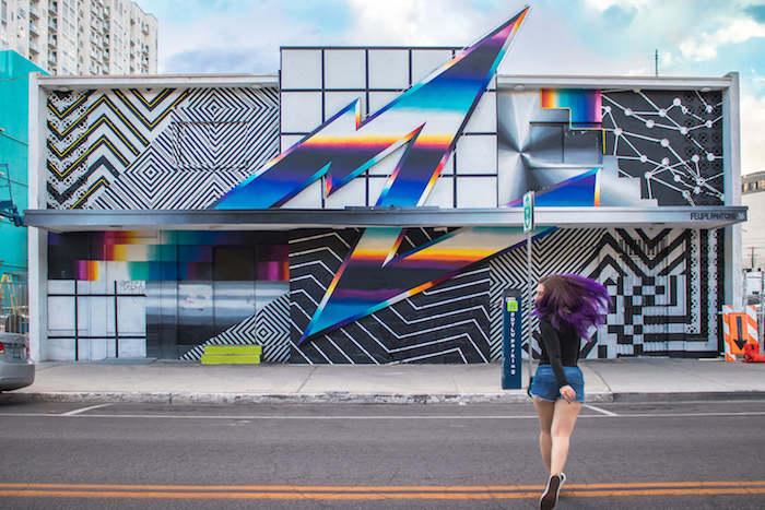 Tour the downtown street art