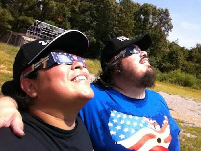 Roadtrip from TX to KY to witness the total solar eclipse