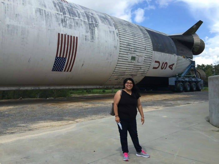 New SaturnV exhibit in MS