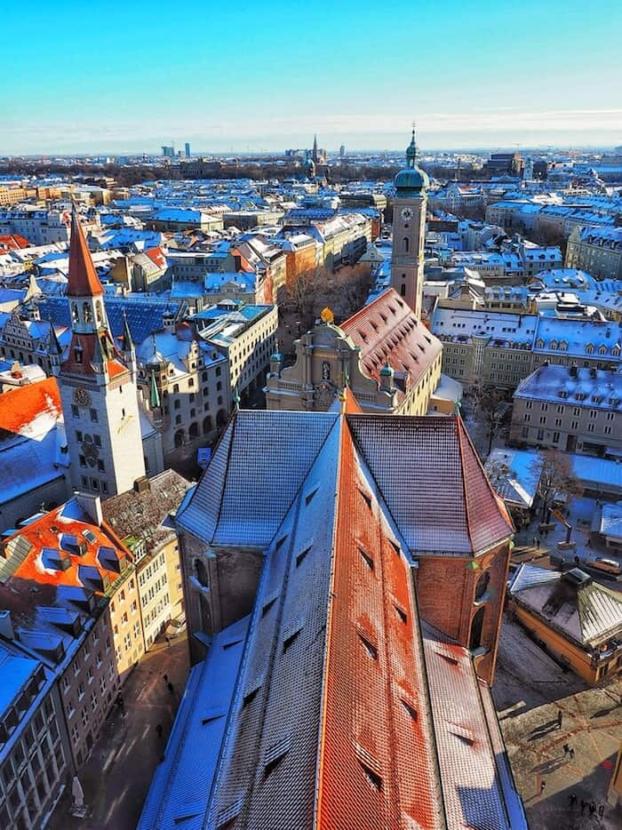 My current hometown, Munich in Germany