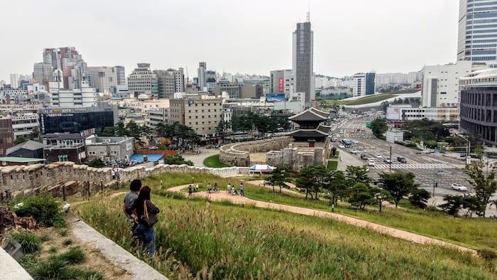 Dongdaemun Gate, exploring Seoul