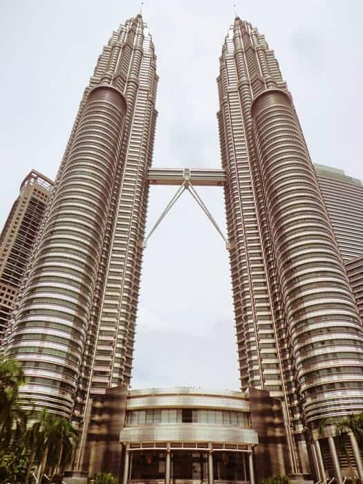 The spectacular Twin Towers