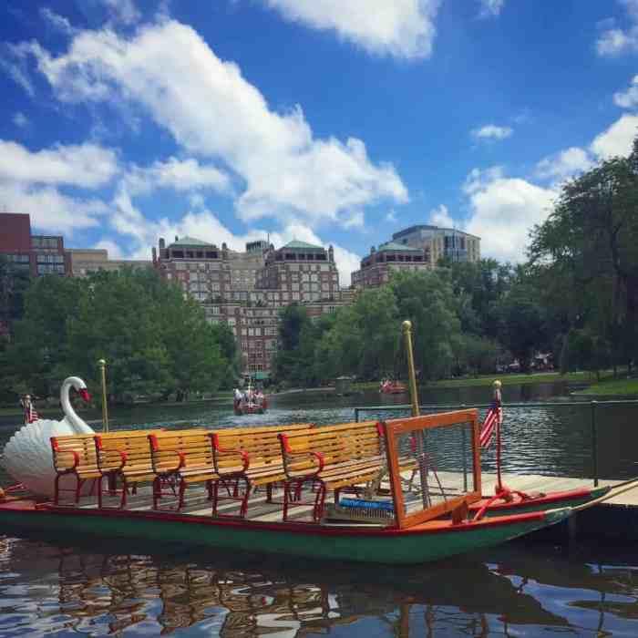 Boston Public Garden Swan Boat